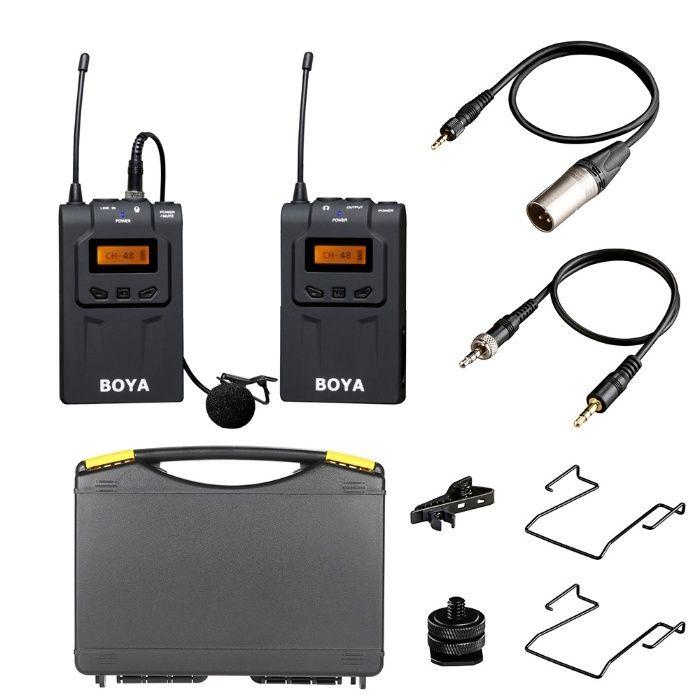 Lavaliera wireless kit Boya BY-WM6, excelenta nunti, studio, reportaj