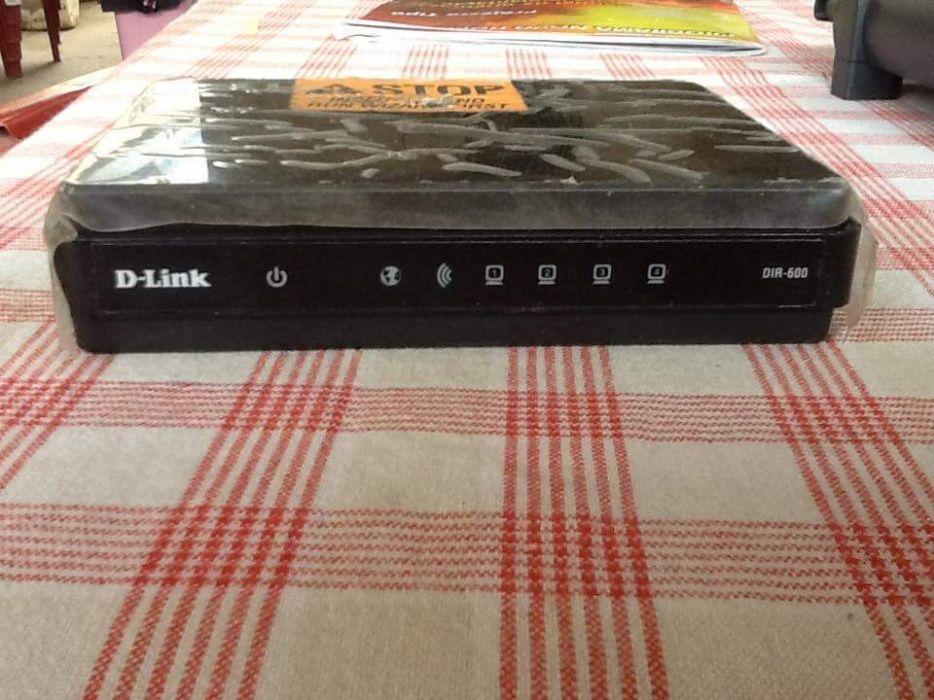 Router D-Link Preto
