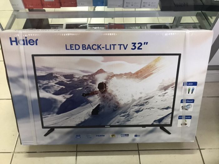 TV Haier LED 32 selada na caixa