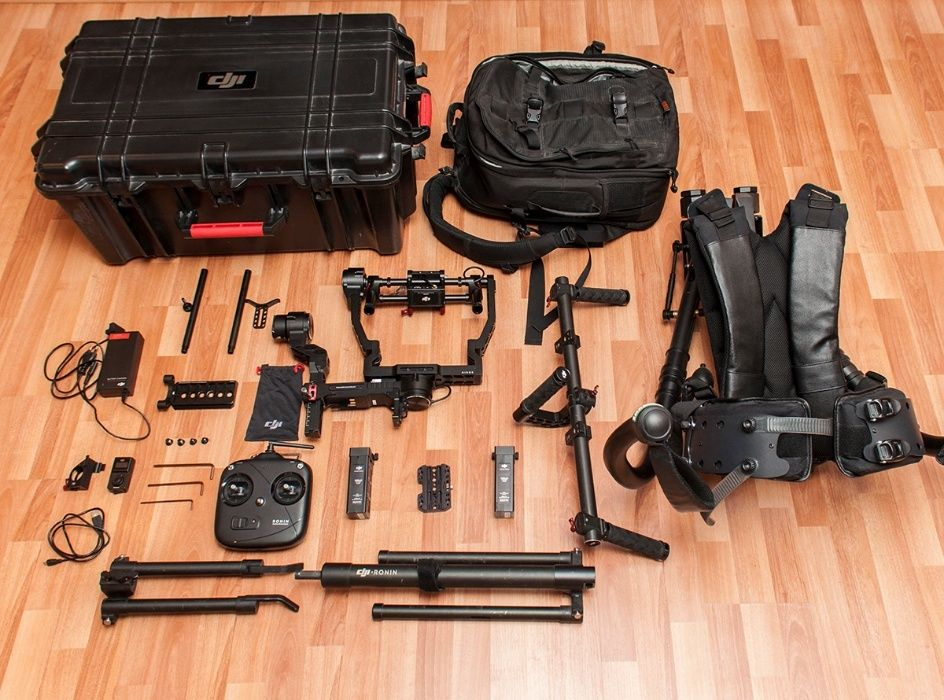 Gimbal DJI RONIN (7.3Kg) + EXHAUSS EXOSKELETON Kit Stabilizare Video