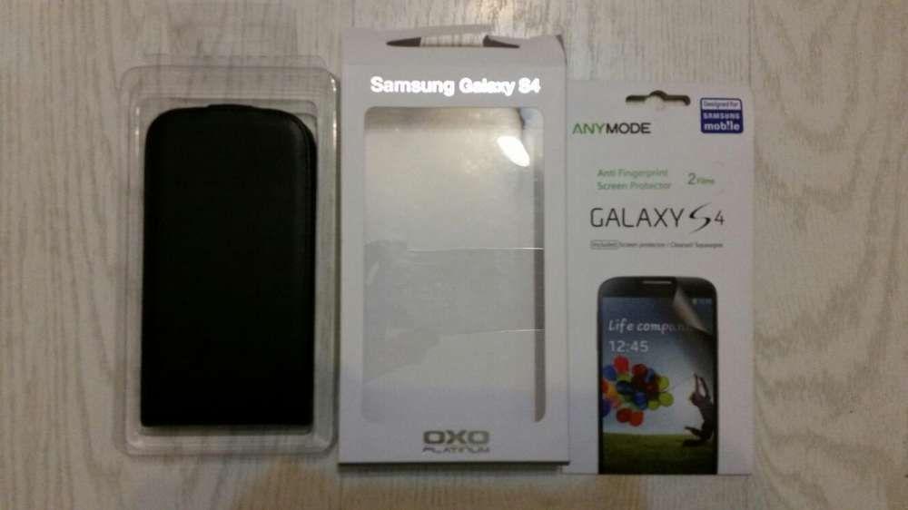 Husa piele Samsung s4