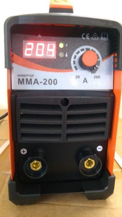Професионален инверторен ЕЛЕКТРОЖЕН - MMA IGBT 200 ампера /ЕЛЕКТРОЖЕНИ
