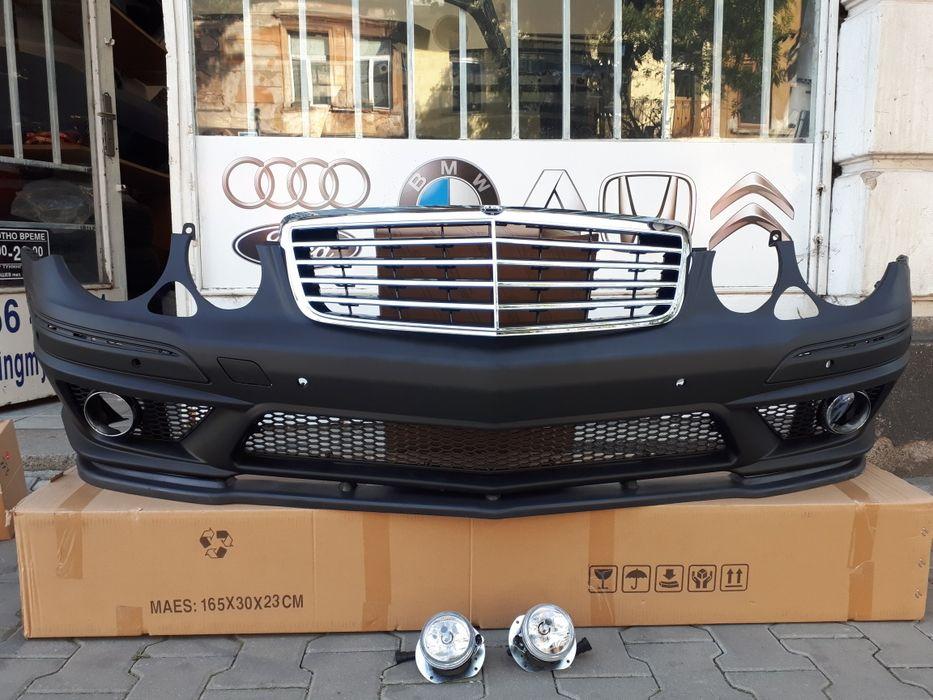 AMG Предна броня за W211 ПРОМО ЦЕНА