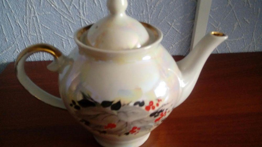 Новый 1,5 литр заварочный чайник с перломутровым отливом
