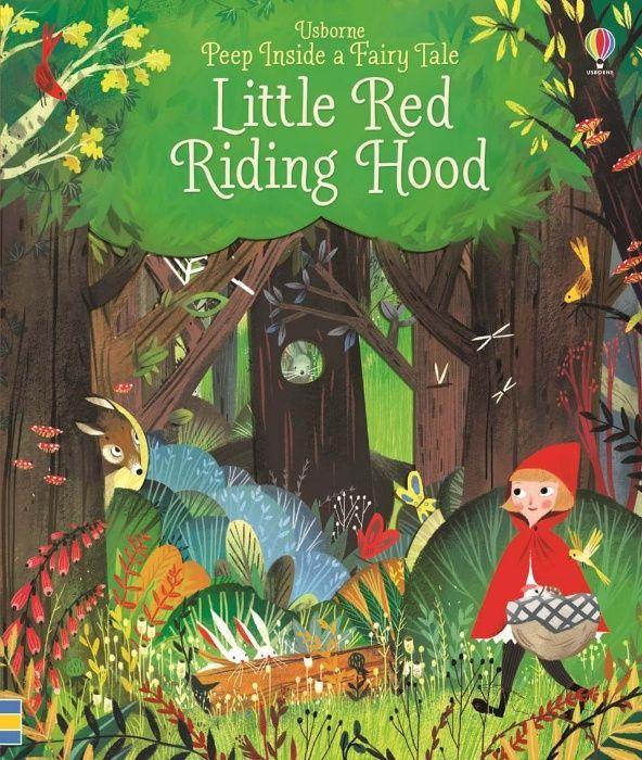 Usborne Peep Fairy Tale Scufita Rosie Decupaje Engleza