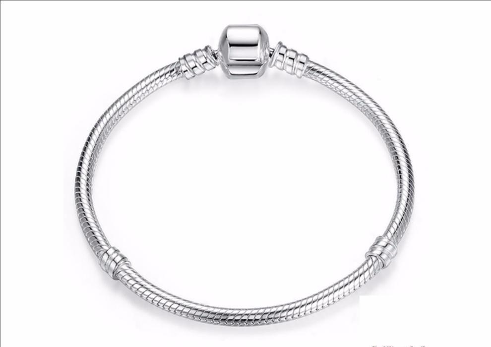 Bratara argint tip Pandora fara logo