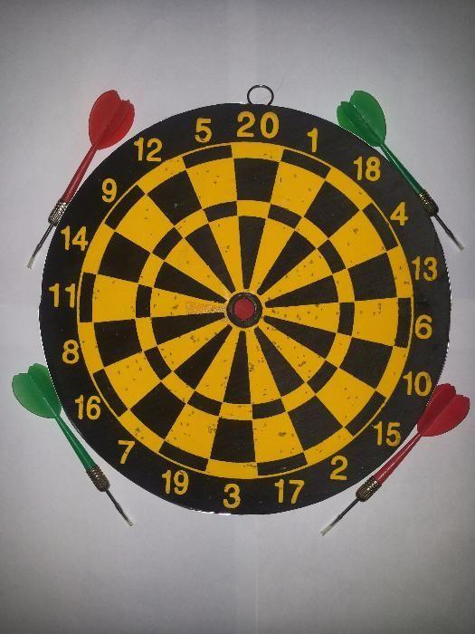 Dartboard , 2 Modele ( 2 in 1 ), 4 Sageti ( Darts )