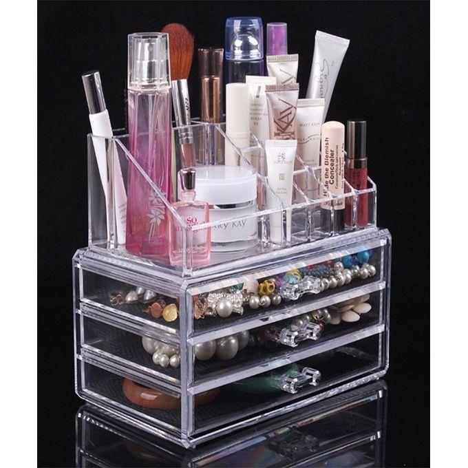 Suport organizator pentru cosmetice si bijuterii