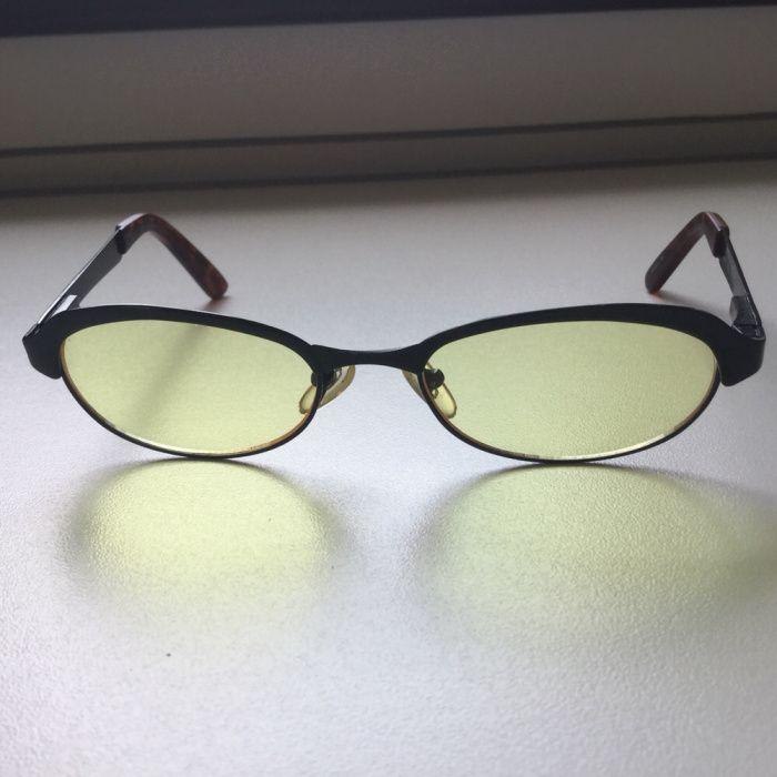 Ochelari de soare BIALUCCI cu lentila galbena / rame ochelari vintage
