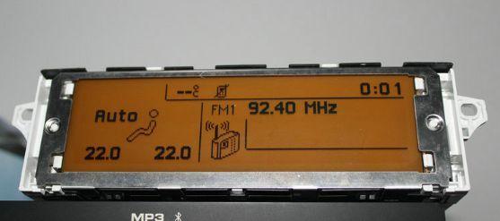 Нов дисплей за пежо ситроен peugeot 307,308,407 206 citroen C2
