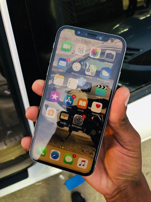 Iphone X Branco 64gb pouco tempo de uso com sua respetica Caixa