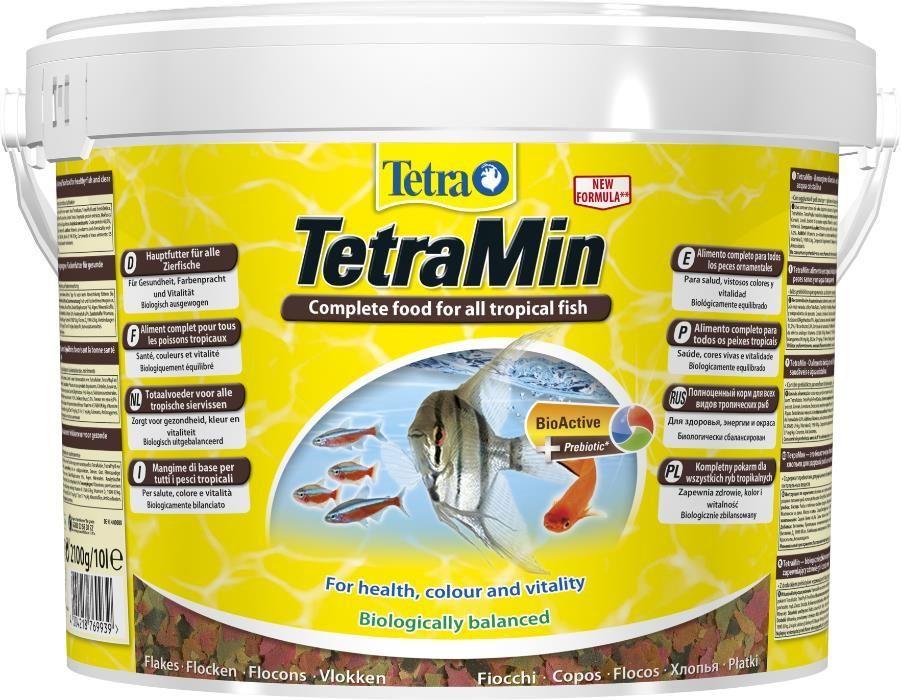 """Корм для рыб TetraMin хлопья 10л в """"Живом Уголке"""" в Таугуле"""