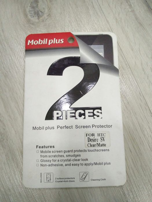 Продам Защитная плёнка-стеко на телефон HTC Desire sv