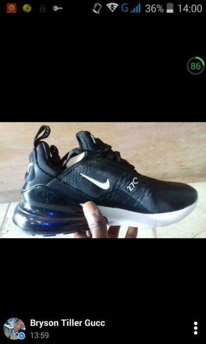 Nike air preta