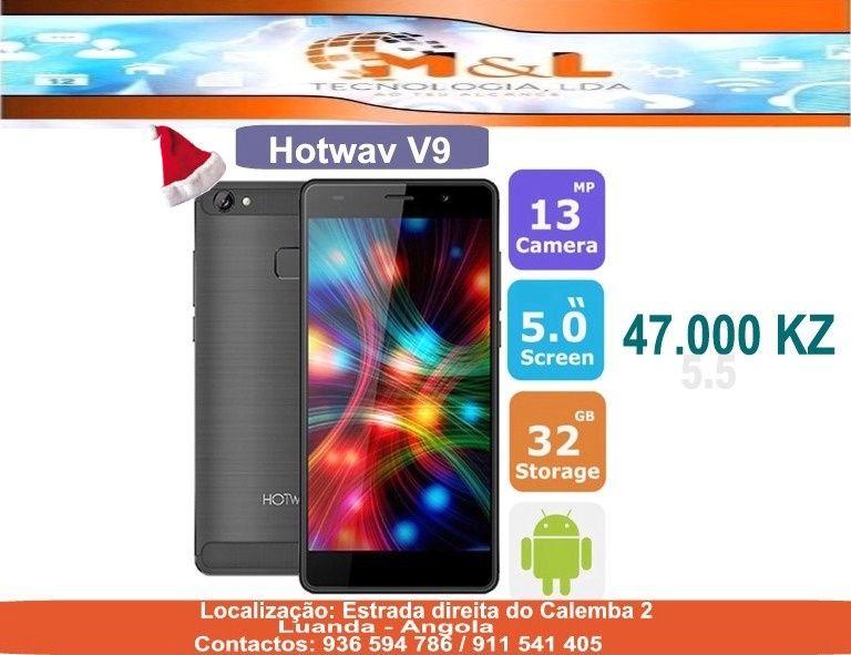 Telemovel Hotwav V9 Novo original