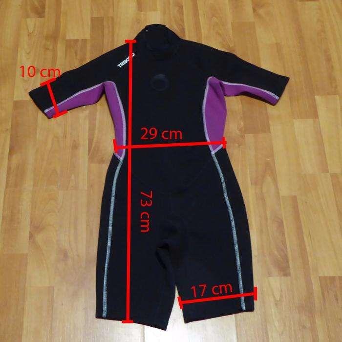 Costum neopren scafandru TRIBORD pentru copii 11-12 ani fete