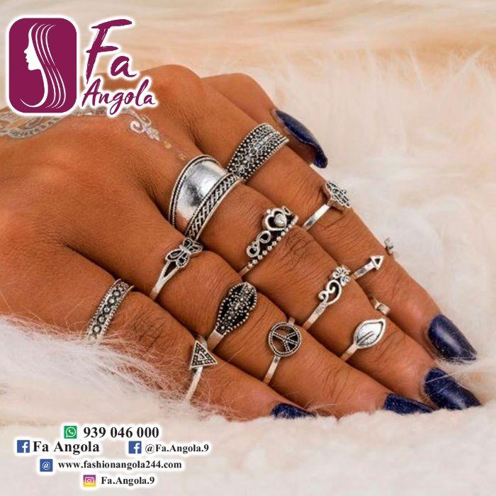 Anéis de ponta de dedos