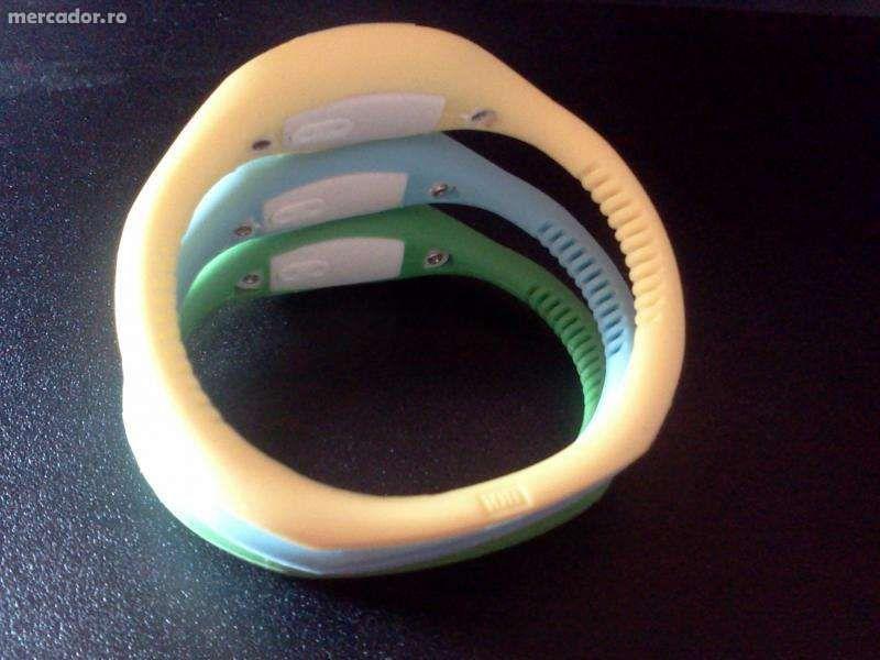 ceasuri silicon diferite culori(ionizator)