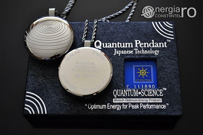 Pandantiv Scalar Cuantic Generator de Ioni Negativi Torsionar