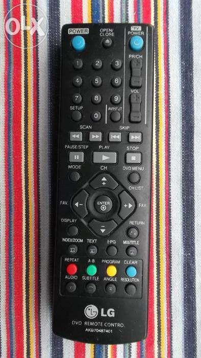 Telecomanda LG AKB70487401 LG 6711R1P072B pt.tv lcd led dvd video