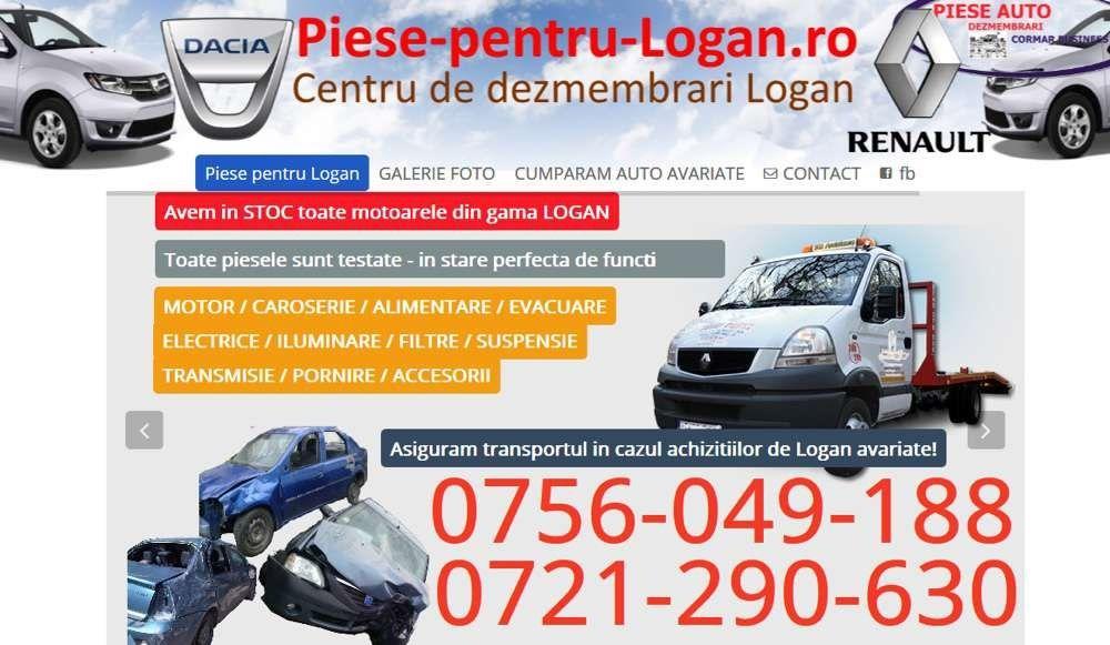 Dezmembrari Dacia Logan- motor 0,9, 1,2 16 v, 1,4 mpi, 1,6 mpi, 1,5etc