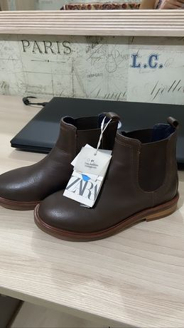 Кожаные Ботинки для мальчика Zara