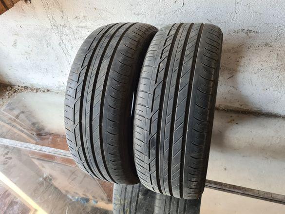 2 бр. летни гуми 225/45/19 Bridgestone DOT 4418 5,5 mm