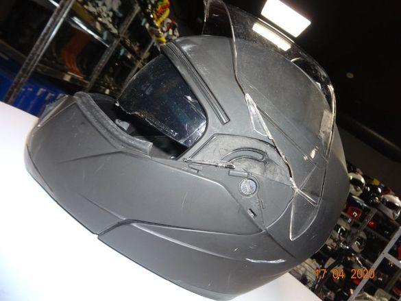 Мото каски втора употреба мотор каска писта шлем пистов