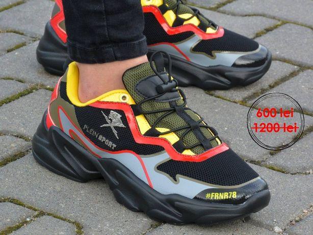 Noul model PLEIN SPORT sneakers runner logos , import ITALIA,Originali