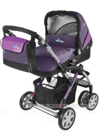 Комбинирана бебешка количка BABY DESIGN - SPRINT PLUS 2в1 + подарък