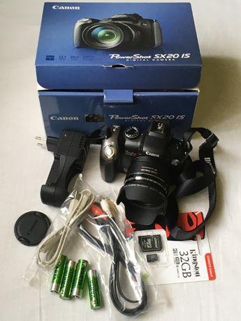 Aparat foto Canon Power Shot SX20IS IMPECABIL!