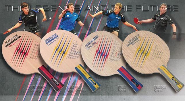 Основания «Donic» для настольного тенниса в ассортименте