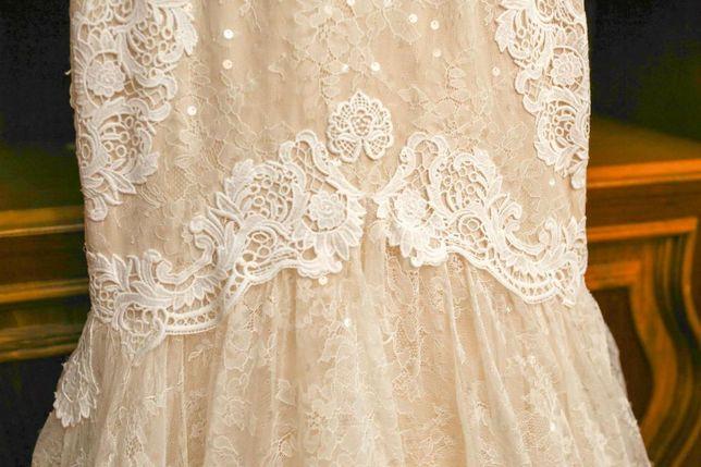 Rochie de mireasă sirenă, mărimea 38