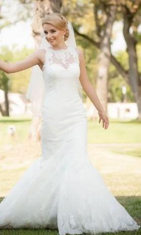 Rochie de mireasa Pronovias White One, model Jorgina, sirena, 36