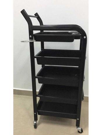 *Фризьорска количка Baco - 31 х 37 х 90,5 см