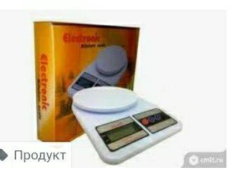 Электронный кухенный веса.