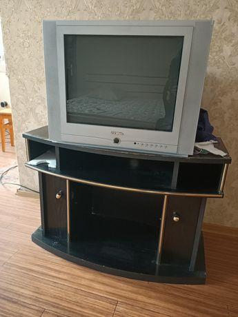 Продам телевизор и подставку