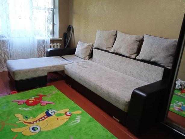Срочно продам раскладной диван уголок !!!