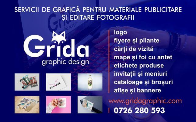 Servicii GRAFICA - Logo Carti de vizita Meniuri Invitatii Etichete