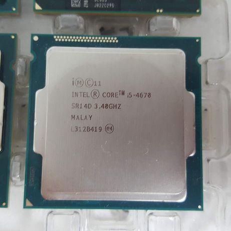 Процессор intel core i5 4670k 2шт. четвертое поколение.