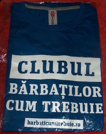 """tricou """"clubul bărbaţilor cum trebuie"""""""
