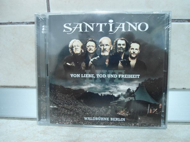 CD muzica, Santiano Von Liebe, Tod Und Freihe/nou in folie.