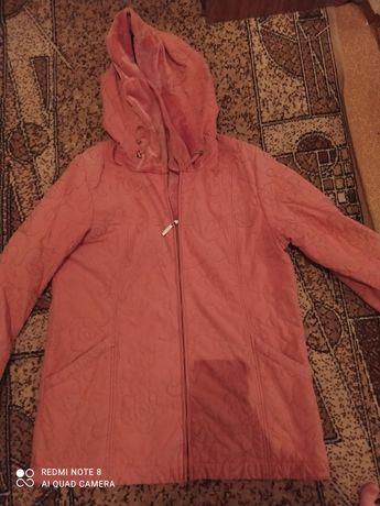 2 женские куртки 54-56 размер