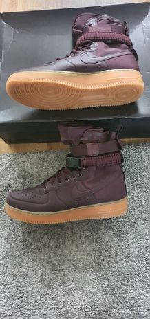 Nike air force 1 Sf high Burgundy