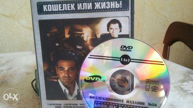 DVD диски, видеокассеты VHS