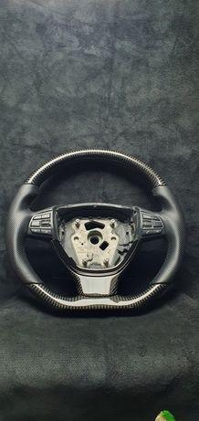 Volan ergonomic plus insertii fibra de carbon bmw f10
