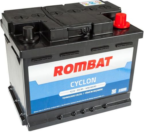 Baterie auto Rombat 55 Ah - Livrare gratuita in Bacau !