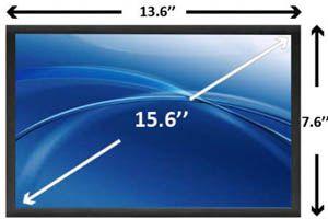 Display 15.6 LCD, 15.6 LED, 15.4 LCD, 17.3 LCD