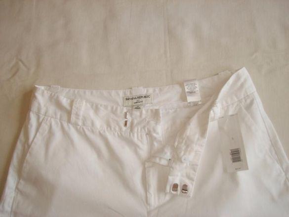Марков,нов,с етикета бял панталон, L