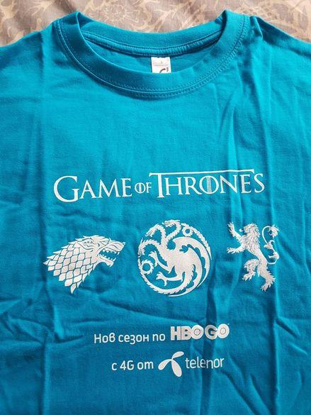 Рекламна тениска Game of Thrones Telenor